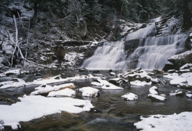 Kent Falls_Winter © Robert Floyd