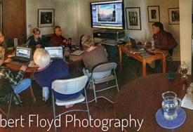 Our Certified Adobe Expert in Lightroom and Photoshop Ed Judge instructs at The Floyd Photo Gallery.
