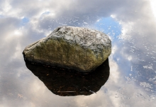 Rock and Reflection ©Marc St. Onge